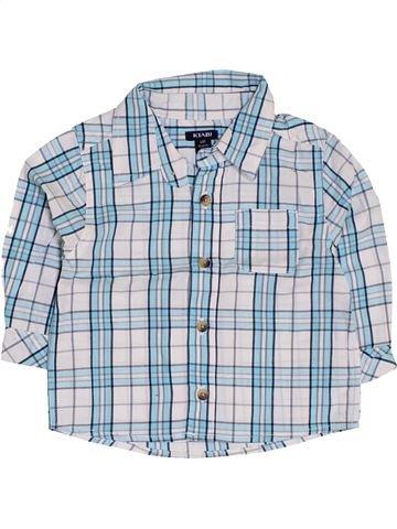 Chemise manches longues garçon KIABI bleu 6 mois hiver #1419564_1