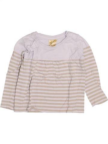 T-shirt manches longues fille LILY & DAN bleu 2 ans hiver #1419872_1