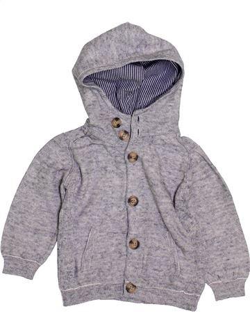 Chaleco niño ZARA gris 12 meses invierno #1419900_1