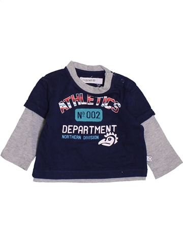 T-shirt manches longues garçon NOPPIES bleu 3 mois hiver #1419956_1
