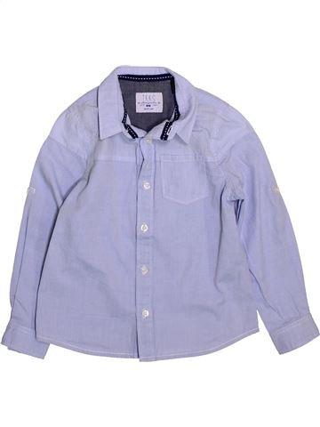 Chemise manches longues garçon IKKS gris 4 ans hiver #1420047_1