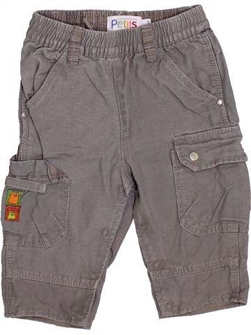 Pantalon garçon LA COMPAGNIE DES PETITS gris 6 mois hiver #1420132_1