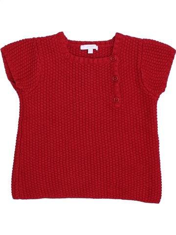 jersey niña JACADI rojo 6 años invierno #1420174_1