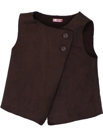 Chaleco niña DPAM marrón 6 años invierno #1420206_1