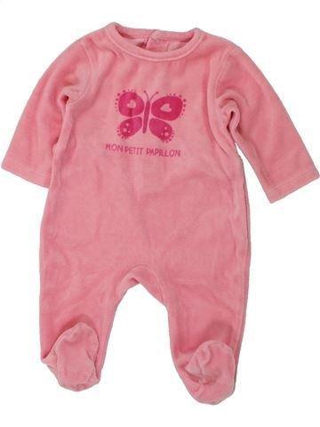 Pijama de 1 pieza niña KIMBALOO rosa 1 mes invierno #1420293_1