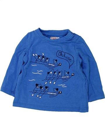 Camiseta de manga larga niño DPAM azul 9 meses invierno #1420583_1