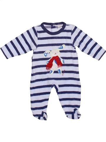 Pijama de 1 pieza niño ABSORBA azul 1 mes invierno #1420600_1