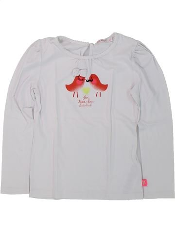 T-shirt manches longues fille BILLIEBLUSH blanc 5 ans hiver #1420649_1