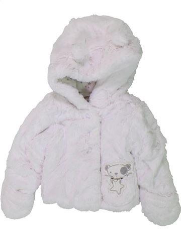 Manteau fille GRAIN DE BLÉ blanc 3 mois hiver #1420688_1