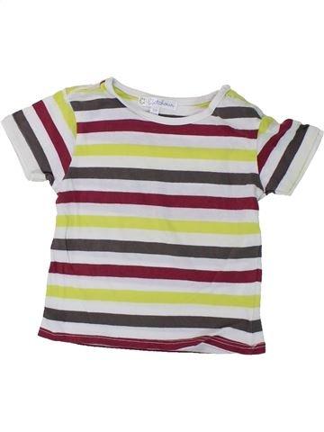 T-shirt manches courtes garçon KIABI violet 9 mois été #1420690_1