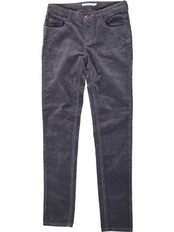 Pantalón niña MONOPRIX gris 10 años invierno #1420714_1