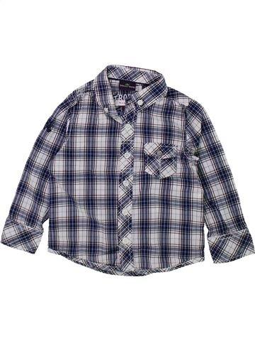 Chemise manches longues garçon SERGENT MAJOR bleu 3 ans hiver #1420818_1