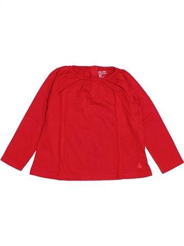 Camiseta de manga larga niña GAP rojo 3 años invierno #1420896_1
