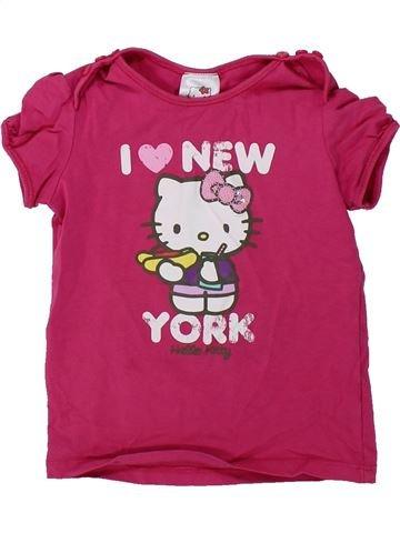 Camiseta de manga corta niña C&A rosa 3 años verano #1420903_1
