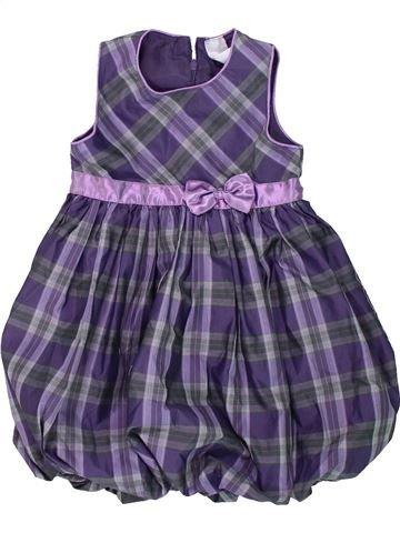 Vestido niña C&A violeta 4 años invierno #1420908_1