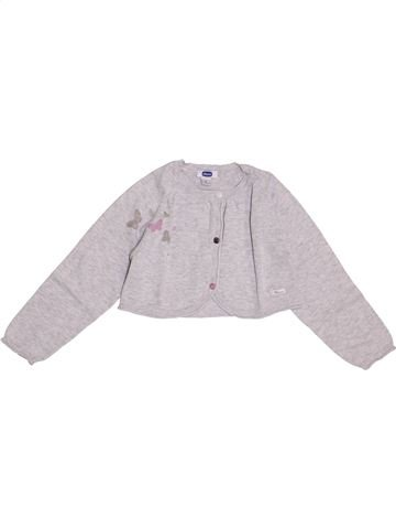 Gilet fille CHICCO blanc 18 mois hiver #1420913_1