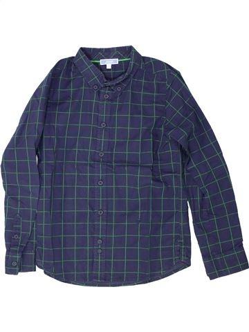 Camisa de manga larga niño JACADI azul 8 años invierno #1421008_1