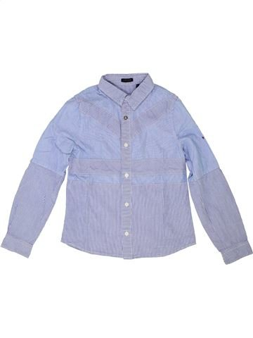 Chemise manches longues garçon IKKS gris 8 ans hiver #1421010_1