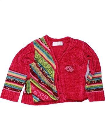 Chaleco niña CLAYEUX rojo 3 años invierno #1421014_1
