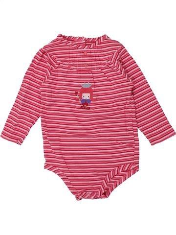 T-shirt manches longues fille LA COMPAGNIE DES PETITS rose 12 mois hiver #1421036_1