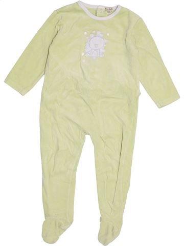 Pyjama 1 pièce garçon GRAIN DE BLÉ beige 2 ans hiver #1421057_1
