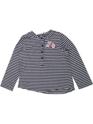 Camiseta de manga larga niña IKKS gris 4 años invierno #1421067_1