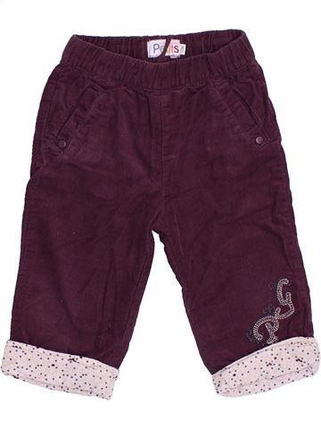 Pantalon fille LA COMPAGNIE DES PETITS marron 12 mois hiver #1421077_1