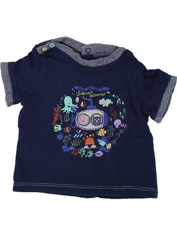 Camiseta de manga corta niño SERGENT MAJOR azul 3 meses verano #1421138_1