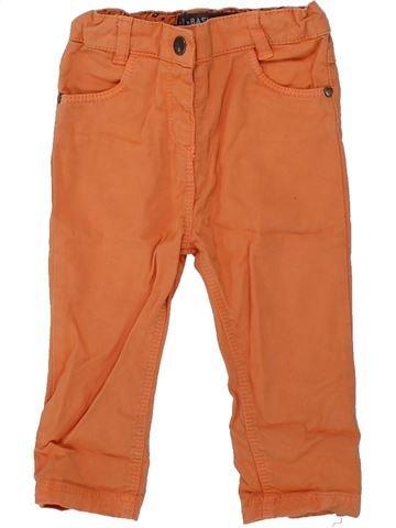 Pantalon fille ORCHESTRA marron 9 mois hiver #1421206_1