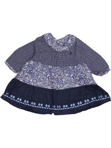 Vestido niña VERTBAUDET azul 3 meses invierno #1421492_1