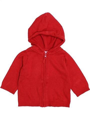 Chaleco niño DPAM rojo 6 meses invierno #1421495_1