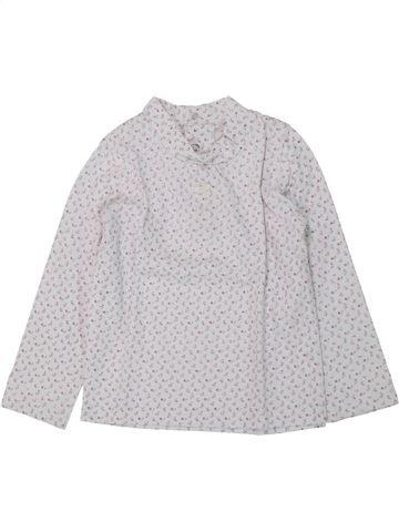 T-shirt manches longues fille GRAIN DE BLÉ blanc 2 ans hiver #1421586_1