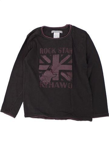 Camiseta de manga larga niño LA REDOUTE CRÉATION negro 6 años invierno #1421655_1