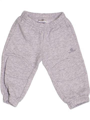 Pantalón niño DOMYOS gris 6 meses invierno #1421669_1