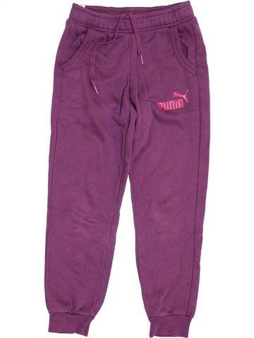 Pantalon fille PUMA violet 10 ans hiver #1421753_1