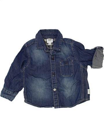 Chemise manches longues garçon TED BAKER bleu 6 mois hiver #1421762_1