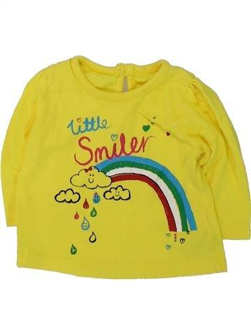 Camiseta de manga larga niña GEORGE verde 3 meses invierno #1421839_1