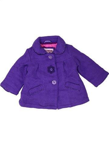 Manteau fille TED BAKER violet 6 mois hiver #1421859_1
