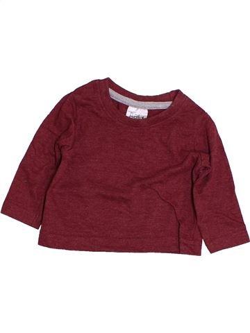 T-shirt manches longues garçon PEACOCK'S rouge 3 mois hiver #1422125_1