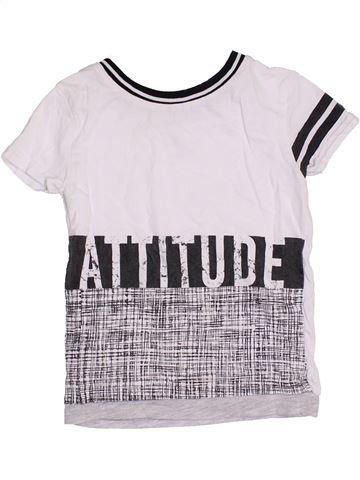 T-shirt manches courtes garçon RIVER ISLAND blanc 2 ans été #1422402_1