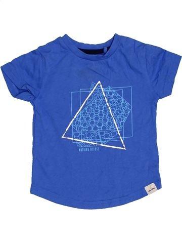T-shirt manches courtes garçon RIVER ISLAND bleu 6 mois été #1422507_1