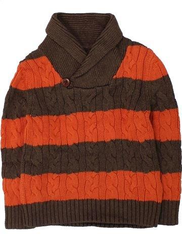 jersey niño GAP marrón 5 años invierno #1422729_1