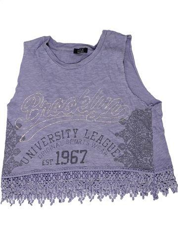 T-shirt sans manches fille M&CO bleu 12 ans hiver #1423207_1