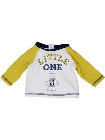 Camiseta de manga larga niño TU blanco 1 mes invierno #1423265_1