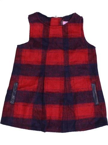 Vestido niña F&F marrón 12 meses invierno #1423312_1