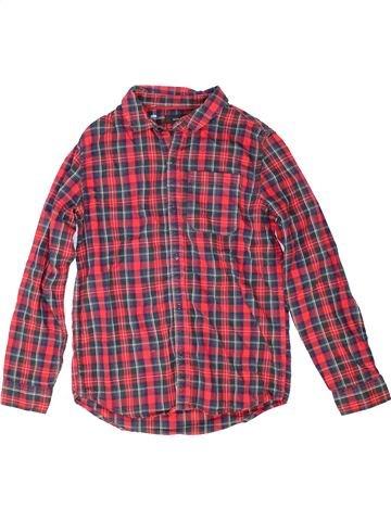 Chemise manches longues garçon RIVER ISLAND violet 10 ans hiver #1423403_1