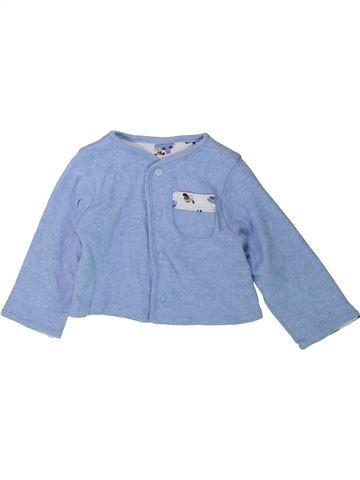 Chaleco niño SANS MARQUE azul 3 meses invierno #1423435_1
