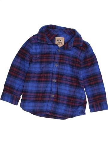 Camisa de manga larga niño NEXT azul 18 meses invierno #1423606_1