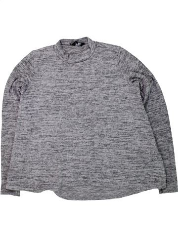 Pull fille NEW LOOK gris 13 ans hiver #1423611_1