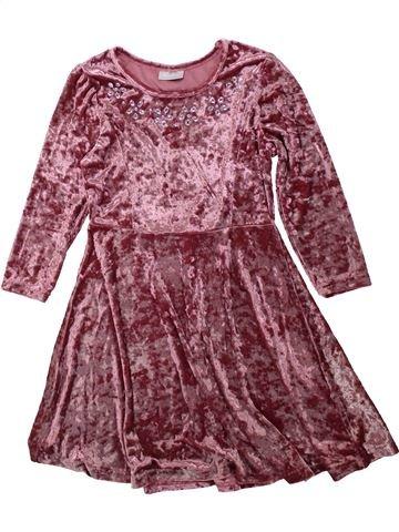 Robe fille I LOVE GIRLSWEAR violet 10 ans hiver #1423636_1